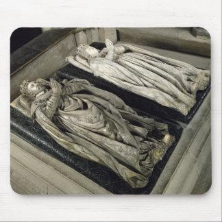 Effigies of Henri II  and Catherine de Medici Mouse Pad