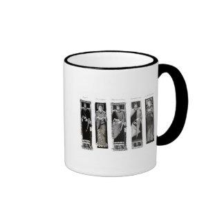 Effigies of Henry II  Eleanor of Aquitaine Ringer Coffee Mug