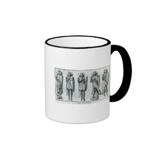 Effigies of Knight Templars Ringer Coffee Mug