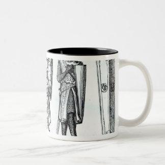 Effigies of Knights Templars Two-Tone Coffee Mug
