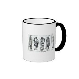 Effigies of Knights Templars Ringer Coffee Mug