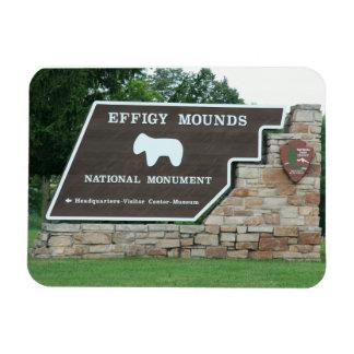 Effigy Mounds Entrance Magnet