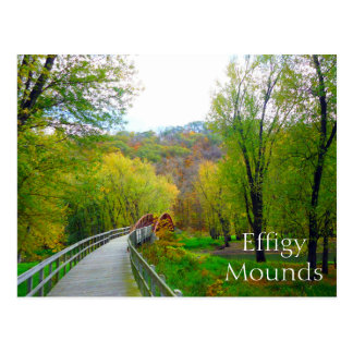 Effigy Mounds National Monument, Iowa Postcard