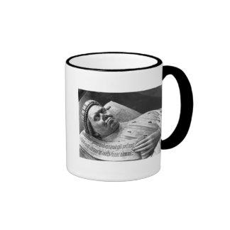 Effigy of Duc Jean de Berry  Count of Poitiers Ringer Coffee Mug