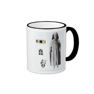 Effigy of Edward III  in the Chapel of Edward Ringer Coffee Mug