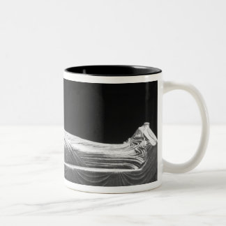 Effigy of Eleanor of Aquitaine Two-Tone Coffee Mug