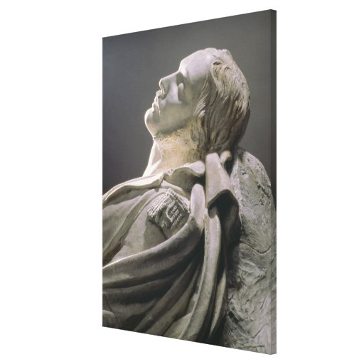 Effigy of Ferdinand-Philippe (1810-42) duc d'Orlea Stretched Canvas Prints