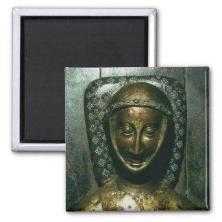 Effigy of William de Valence  Earl of Pembroke 2 Inch Square Magnet