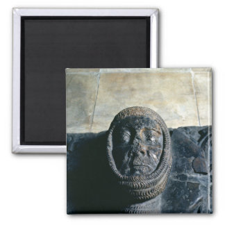 Effigy of William Marshal  Earl of Pembroke 2 Inch Square Magnet