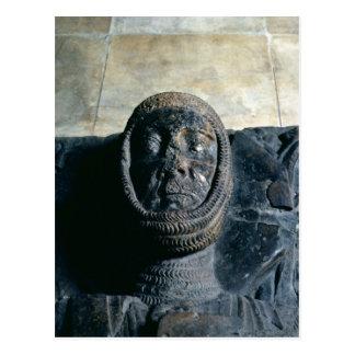 Effigy of William Marshal  Earl of Pembroke Postcard