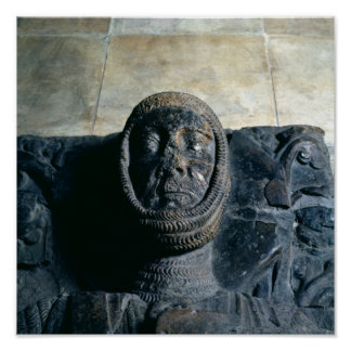 Effigy of William Marshal  Earl of Pembroke Poster