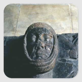 Effigy of William Marshal  Earl of Pembroke Square Sticker