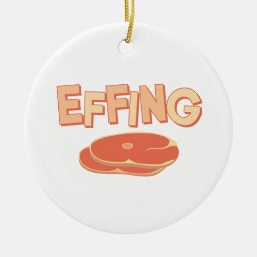 Effingham Ceramic Ornament
