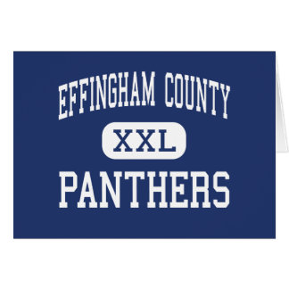 Effingham County Panthers Middle Springfield Cards