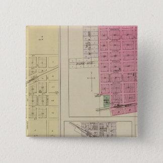 Effingham, Muscotah, Lancaster, Kansas Pinback Button