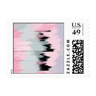 Effloresce Brush Rosa Postage Stamp