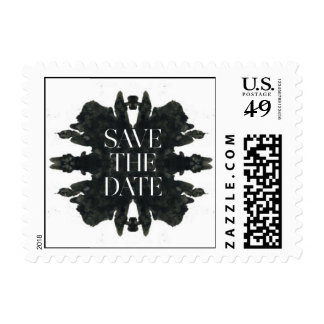 Effloresce Save-the-Date Ink Blot Stamps