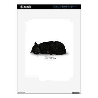 Effort Cat Skins For iPad 3