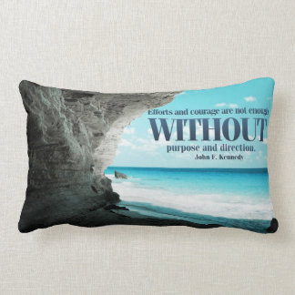 Efforts and Courage Custom Pillow