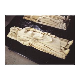 """Efigie de Charles V """""""" el c.1364 sabio Lienzo Envuelto Para Galerias"""