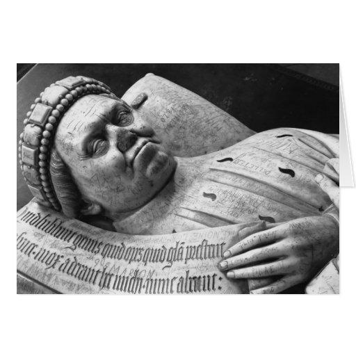 Efigie de Duc Jean de Berry Count de Poitiers Tarjeta De Felicitación