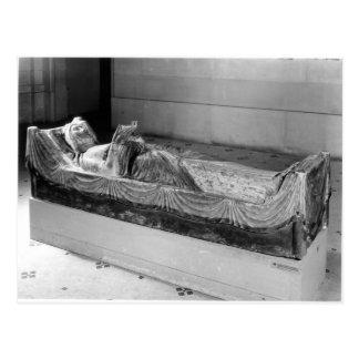 Efigie de Eleanor de Aquitania Postales