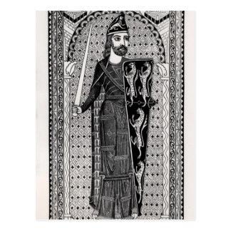 Efigie de Geoffrey Plantagenet Postales