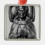 Efigie de Henry VII en la abadía de Westminster Ornamentos Para Reyes Magos