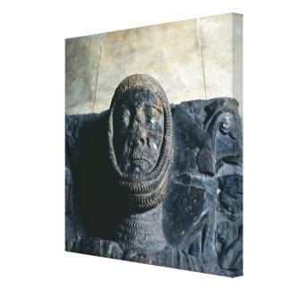 Efigie del conde del mariscal de Guillermo del Pem Lona Envuelta Para Galerias