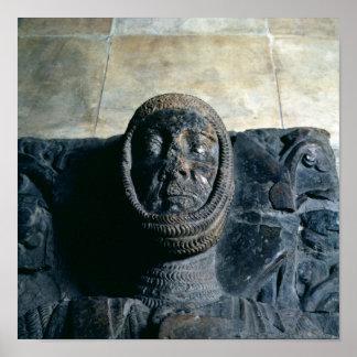 Efigie del conde del mariscal de Guillermo del Pem Póster