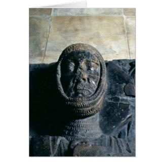 Efigie del conde del mariscal de Guillermo del Pem Tarjeta