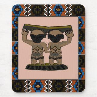 Efigie tribal - arte de Aftrican Mouse Pads