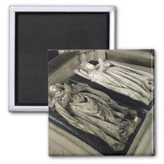 Efigies de Enrique II y Catherine de Medici Imanes Para Frigoríficos
