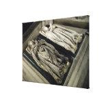 Efigies de Enrique II y Catherine de Medici Lona Estirada Galerías