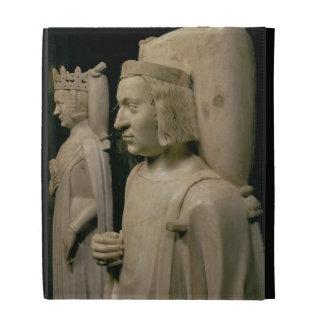 """Efigies de la tumba de Charles V el """"sabio"""" (13"""