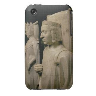"""Efigies de la tumba de Charles V el """"sabio"""" (13 Funda Para iPhone 3 De Case-Mate"""