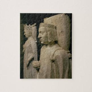 Efigies de la tumba de Charles V el sabio 13 Rompecabezas