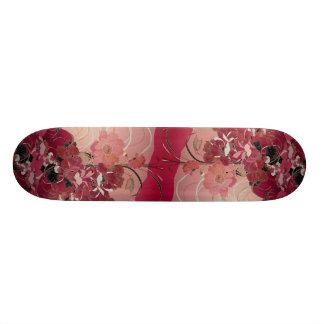 Efluvios hermosos tabla de patinar