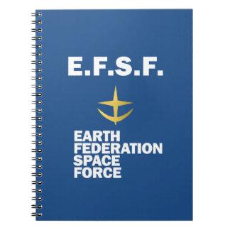 EFSF Notebook (Blue)