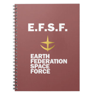 EFSF Notebook (Rust Red)