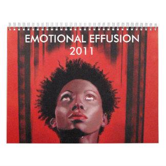 Efusión emocional 2011 calendarios