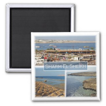 Beach Themed EG * Egypt - Red Sea - Sharm El Sheikh Magnet