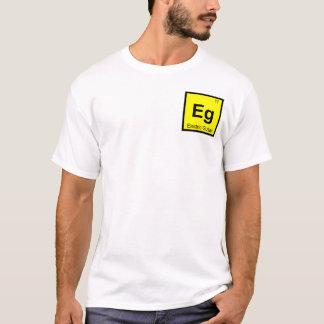 Eg - Electric Guitar Music Chemistry Symbol T-Shirt