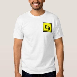 Eg. - Símbolo de la química de la música de la Remeras