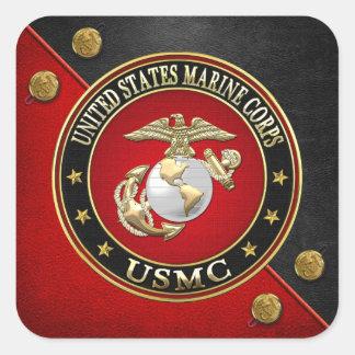 EGA del USMC [edición especial] [3D] Colcomanias Cuadradas