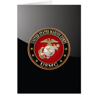 EGA del USMC [edición especial] [3D] Tarjeta De Felicitación