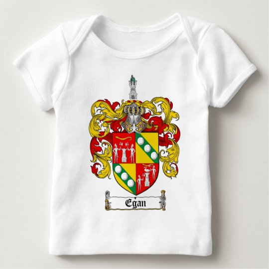 EGAN FAMILY CREST -  EGAN COAT OF ARMS BABY T-Shirt
