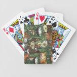 Ege de las tarjetas del anillo de hadas baraja cartas de poker