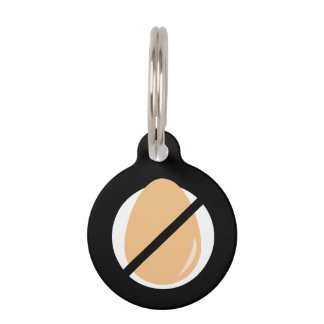 Egg Allergy Kids Emergency Contact Information Pet ID Tag