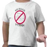 Egg Allergy Tee Shirt